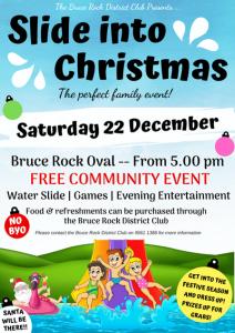 Slide into Christmas @ Bruce Rock District Club | Bruce Rock | Western Australia | Australia